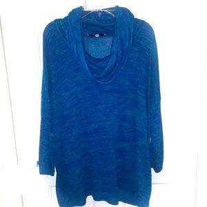 Beautiful sheer Jones New York sweater w/cowl-neck